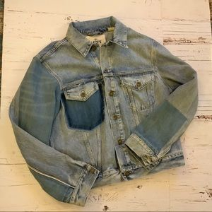 Levi's made and crafted light wash denim jacket 3